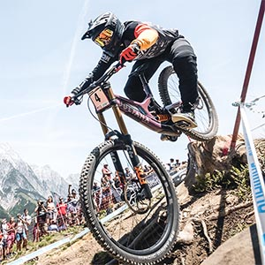 Downhill-WM in Saalfelden Leogang