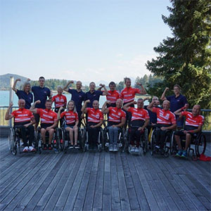 Trainingslehrgang der Tokio-Athleten in Faak/See